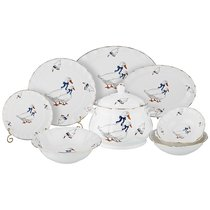 Столовый Набор На 6 Персон Гуси 24 Пр. - Kingensin Porcelain Industrial