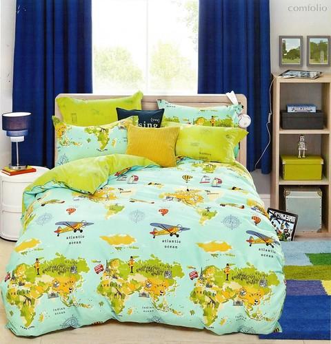 Постельное белье Karna Delux Troy, подростковое, 1.5-спальный - Karna (Bilge Tekstil)