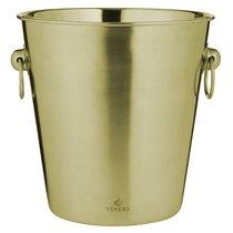 Ведерко для охлаждения игристых вин Barware 4 л золото - Viners