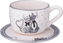 Чайный Набор На 1 Персону 2 Пр.Ля Мур 300 млВысота 7 см - FUJIAN DEHUA JIAFA CERAMICS