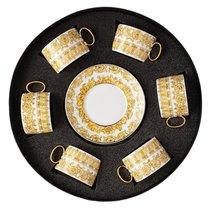 """Набор чашек с блюдцами Rosenthal Versace """"Медуза Рапсодия"""" 220мл, 6шт, (подарочный), п/к - Rosenthal"""