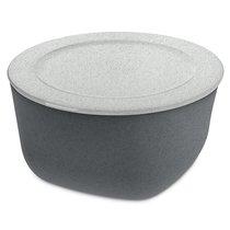 Контейнер для хранения продуктов CONNECT XL Organic 4 л темно-серый - Koziol