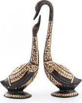 Набор Фигурок Из 2 шт. Лебедь Высота 35 И 30 см - STANDARD ART PRODUCTS