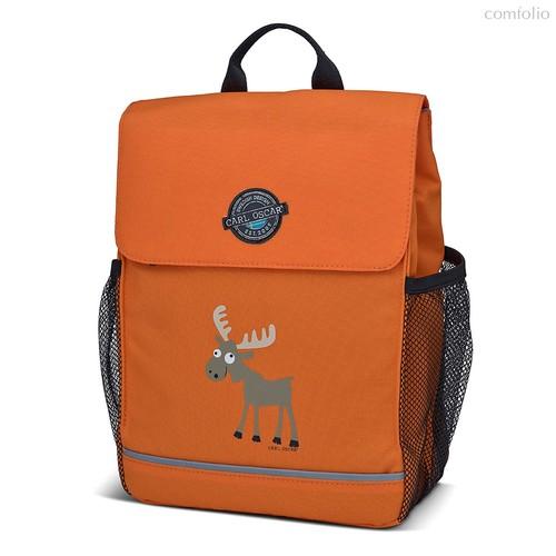 Рюкзак детский Pack n' Snack™ Moose оранжевый, цвет оранжевый - Carl Oscar