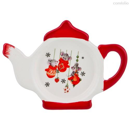Подставка Под Чайные Пакетики Лит л Маус 13x9x2 см - Huachen Ceramics