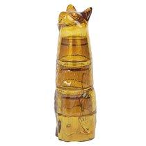 Набор из 4 стаканов Kitty, имбирь - DOIY