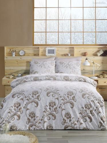 Постельное белье Ranforce Lucian, цвет коричневый, размер 2-спальный - Karna (Bilge Tekstil)