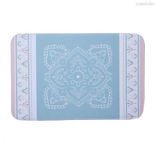 Коврик для ванной Ethnic, цвет синий - D'casa