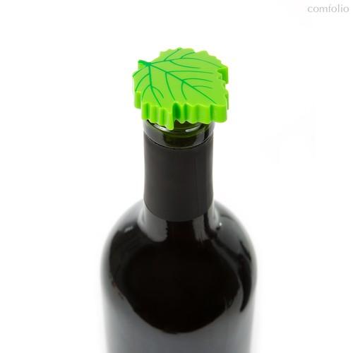 Пробка-каплеуловитель Wine Leaf 2шт., цвет зеленый - Koala