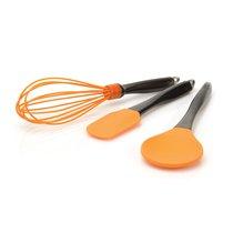 Набор 3пр силиконовых кухонных принадлежностей (оранжевые), цвет оранжевый - BergHOFF
