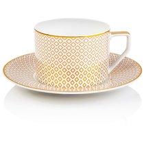 "Чашка чайная с блюдцем 230мл ""Францис Карро Беж"""