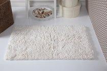 """Коврик для ванной """"MODALIN"""" с бахромой BOLIV 50x80 см 1/1, цвет кремовый, 50x80 - Bilge Tekstil"""