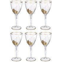 Набор бокалов для вина из 6 шт. 200 мл ВЫСОТА 19 см . - Same