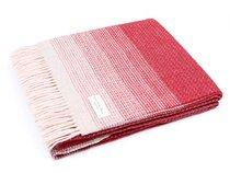 Плед LARA Rosso, цвет красный, 150 x 200 - Italian Woollen Treasures