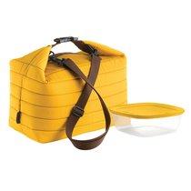 Набор термосумка+контейнер Handy большой жёлтый - Guzzini