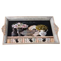 Поднос Коллекция Старинный Прованс 39X26 см - BWSS Kitchenware