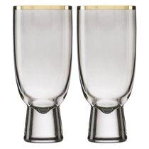 """Набор бокалов для коктейля Lenox """"Трианна"""" 410мл, 2шт (дымчатый), цвет кофейный - Lenox"""