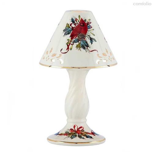 "Лампа-подсвечник Lenox ""Кардинал"" 25см - Lenox"