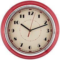 Часы Настенные Кварцевые Lovely Home 29,8x29,8x9,5 см Цвет:Красный - Guangzhou Weihong