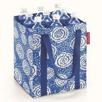 Сумка-органайзер для бутылок Bottlebag batik strong blue - Reisenthel