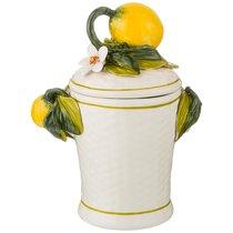 Емкость Для Продуктов 850 мл Лимоны Высота 23 см - Ceramiche d'Arte F.L.