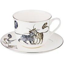 Чайный Набор Котики На 1 Персону, 2 Пр., 400 мл - Jinding