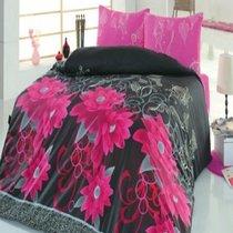 КПБ COTTON LIFE 1,5 сп. (70*70/2 шт.) CASABLANCA, цвет фуксия, 1.5-спальный - Meteor Textile