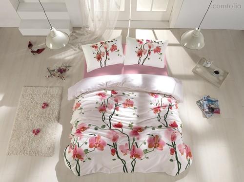 Постельное белье Ranforce Bloom, размер 1.5-спальный - Altinbasak Tekstil