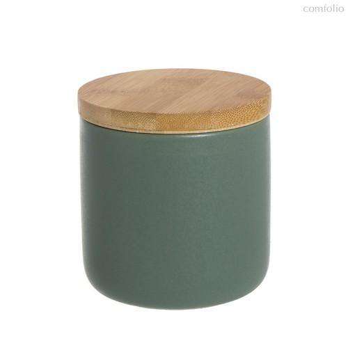 Стакан для ватных дисков Oscuro, цвет зеленый - D'casa