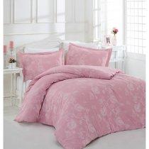 Постельное белье Altinbasak Sehrazat, сатин, цвет лиловый, размер Евро - Altinbasak Tekstil