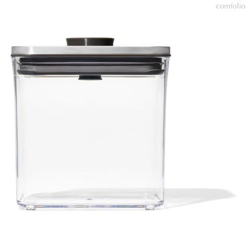 Контейнер для сыпучих продуктов с вакуумной стальной крышкой OXO 1,6л - Oxo