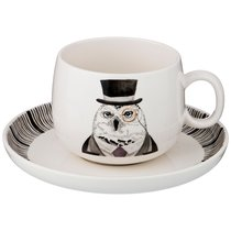 Чайная Пара На 1 Персону Fashion Animals 2 Пр. 450 Мл - Lianjun Ceramics