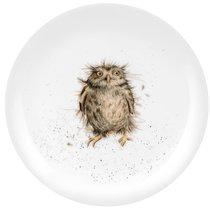"""Тарелка закусочная Royal Worcester """"Забавная фауна"""",""""Сова"""" 20см, костяной фарфор - Royal Worcester"""