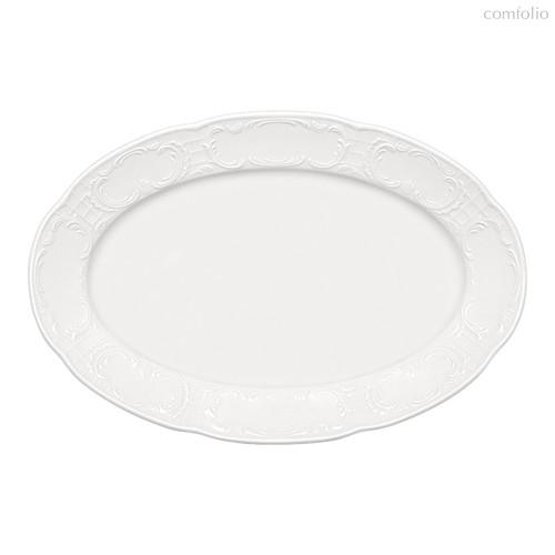Тарелка овальная 28х18,5 см, с бортом, Mozart - Bauscher