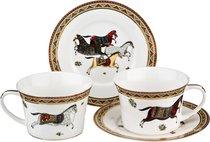 Чайный Набор Лошадь На 2 Персоны 4 Пр. 300 мл - Kingensin Porcelain Industrial