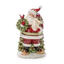 "Шкатулка 30см ""Дед Мороз с подарками"" - Lamart"