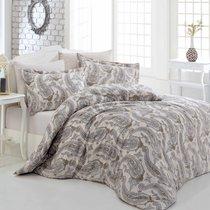Постельное белье Altinbasak Tina, цвет бежевый, размер 2-спальный - Altinbasak Tekstil