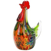 Фигурка Зеленая курочка 15х16 см - Art Glass
