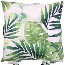 "Подушка на стул ""Тропикана"", P705-1849/1, 41х41 см, цвет зеленый - Altali"