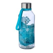 Бутылка спортивная WisdomFlask™ Water 0.65л, цвет бирюзовый - Carl Oscar