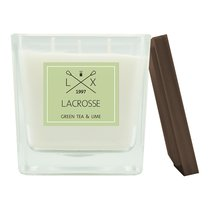 Свеча ароматическая Lacrosse, Зеленый чай и лайм, 60 ч - Ambientair