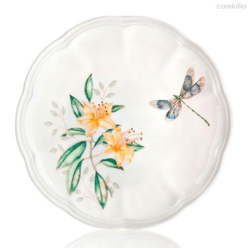 "Тарелка пирожковая Lenox ""Бабочки на лугу"" 15см, 15 см - Lenox"