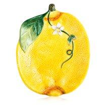 """Блюдо сервировочное 3D Certified Int. """"Лимоны"""" 20х16см - Certified International"""