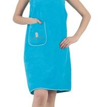 """Набор для сауны """"KARNA"""" женский махровый PARIS 1/3, цвет бирюзовый, 70x150 - Bilge Tekstil"""