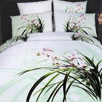 Lacustrine creatures - комплект постельного белья, цвет белый, размер Евро - Famille