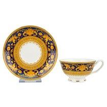 Чайная пара Версаль Синее Золото 180 мл (наб 2 пары) - Top Art Studio