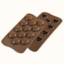 Форма для приготовления конфет My Love силиконовая - Silikomart