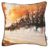 "Чехол для подушки ""Ротана"" 02-1114/1, цвет оранжевый, 43x43 - Altali"