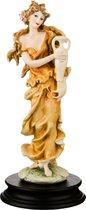 Статуэтка Вдохновение Высота 25 см Глянцевая, цвет желтый - P.N.Ceramics