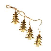 Гирлянда подвесная Golden Trees, 4 шт. - EnjoyMe
